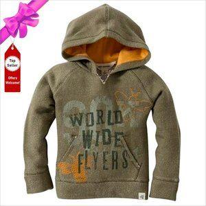BURT'S BEES BABY World Wide Flyers Hoodie